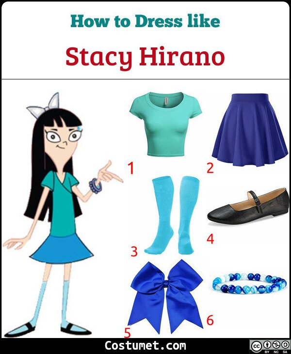 Stacy Hirano Costume for Cosplay & Halloween