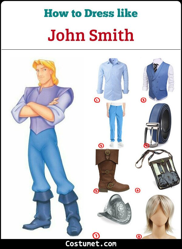 John Smith Cosplay & Costume Guide