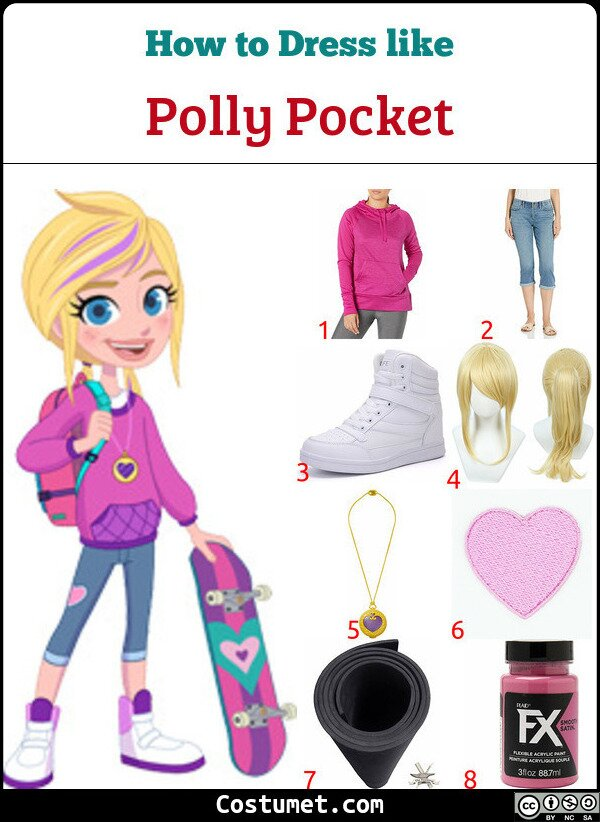 Polly Pocket Costume for Cosplay & Halloween