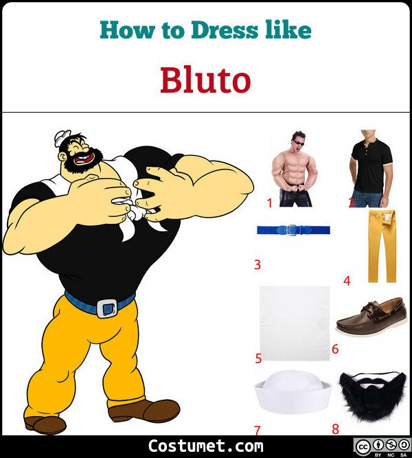 Bluto Costume for Cosplay & Halloween