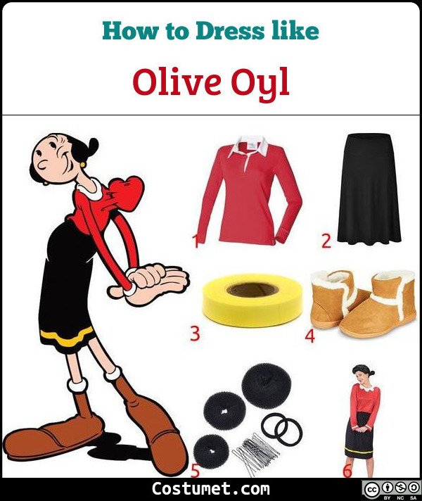 Popeye The Sailor Costume for Cosplay & Halloween