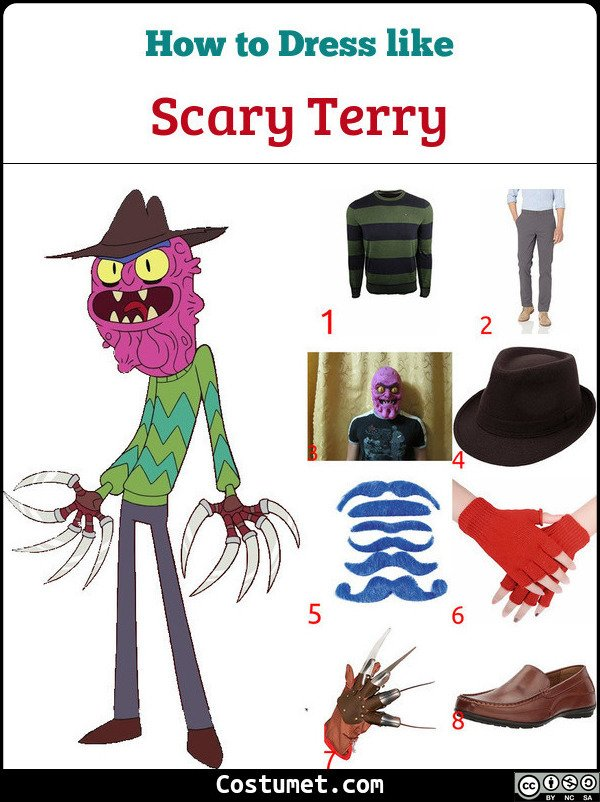 Scary Terry Costume for Cosplay & Halloween