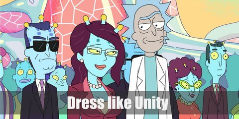 Unity (Rick and Morty) Costume