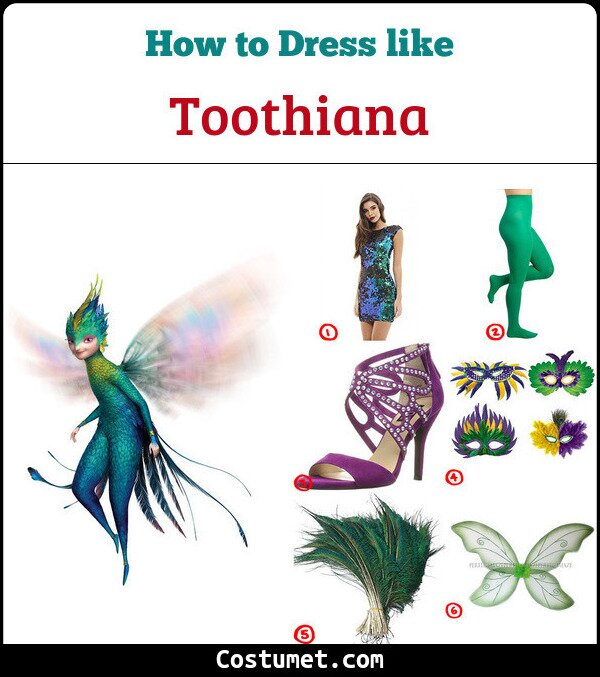 Toothiana Cosplay & costume guide