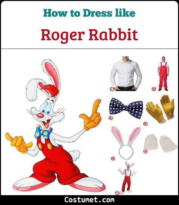Roger Rabbit Cosplay & Costume Guide