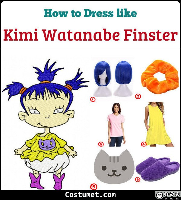 Kimi Watanabe Finster Costume for Cosplay & Halloween