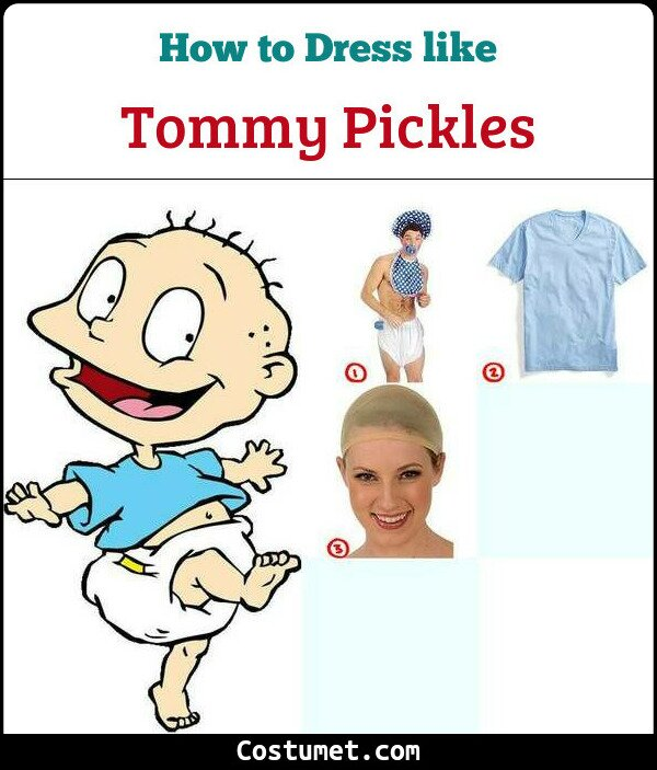 Tommy Pickles Cosplay & Costume Items