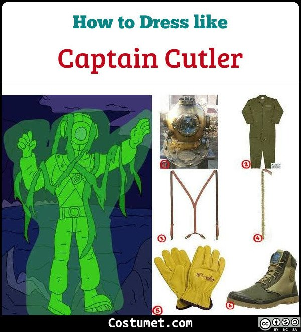 Captain Cutler Cosplay & Costume Guide