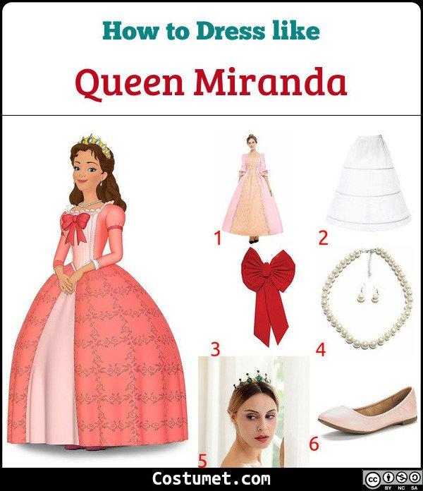 Queen Miranda Costume for Cosplay & Halloween