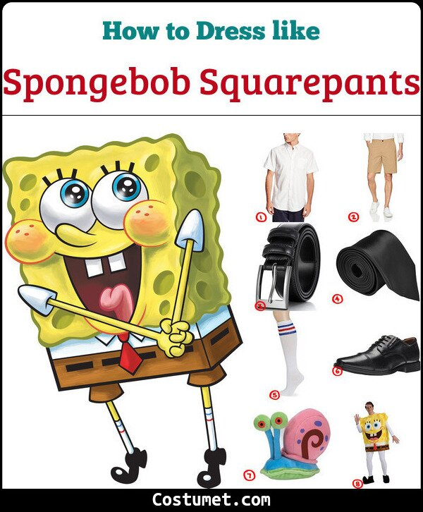 Spongebob squarepants cosplay & costume Guide