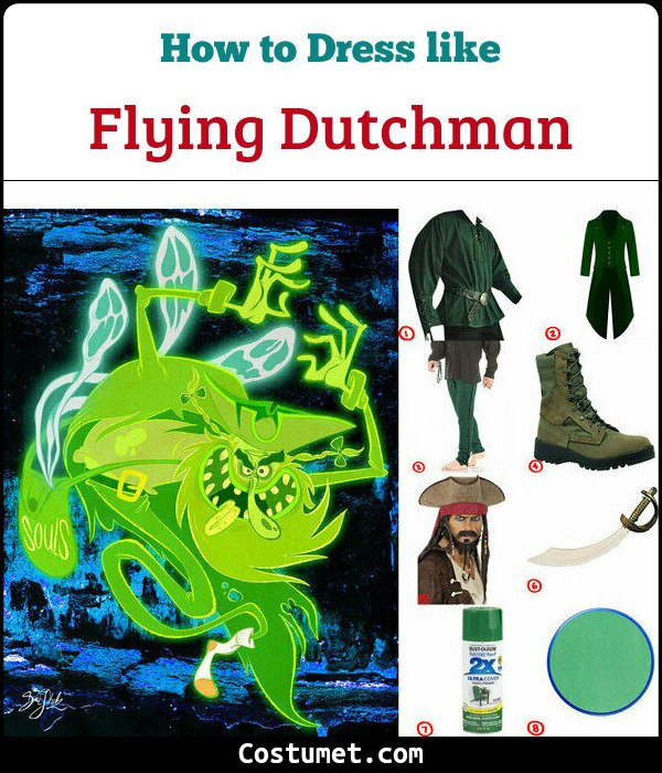 The flying dutchman costume guide