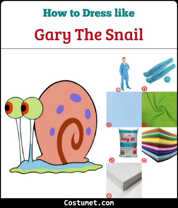 Gary the Snail Cosplay & Costume Guide