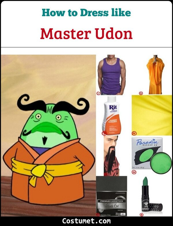 Master Udon Costume Guide