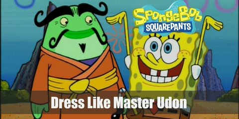 Dress Like Master Udon from Spongebob Squarepants Costume