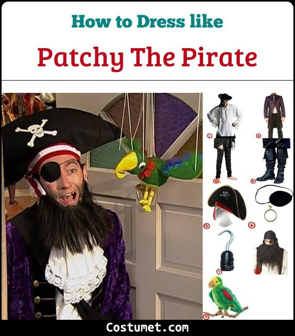 Patchy the Pirate Cosplay & Costume Guide