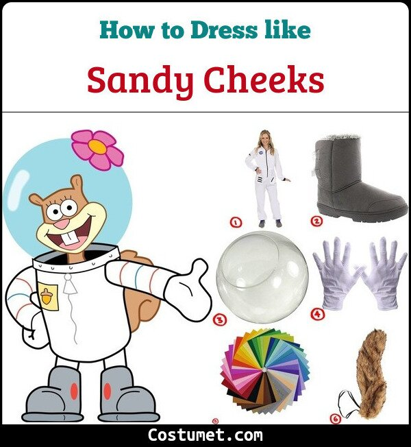Sandy Cheeks Costume Guide