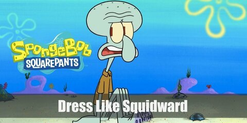 Squidward (Spongebob Squarepants) Costume