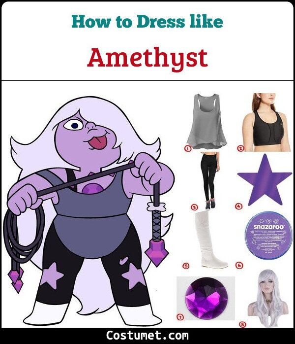 Amethyst Cosplay & Costume Guide