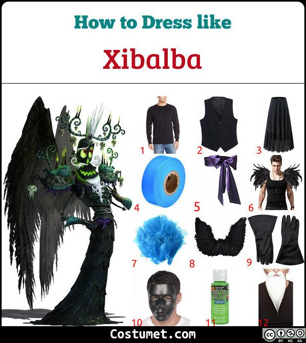 Xibalba Costume for Cosplay & Halloween