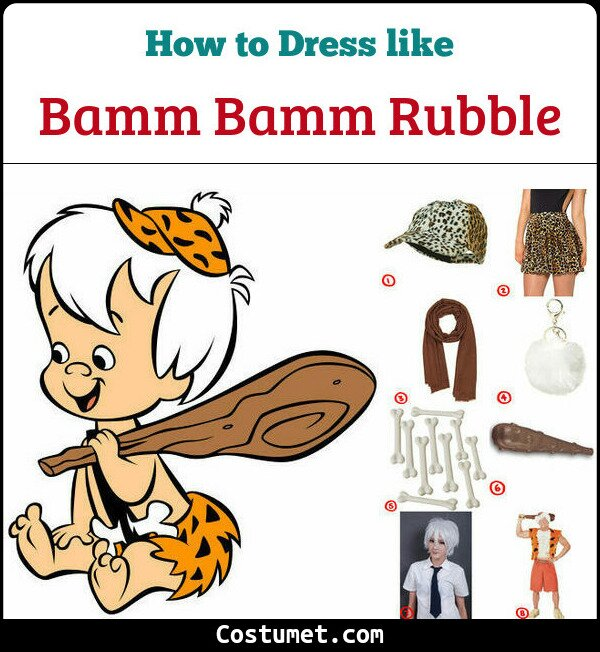 Bamm Bamm Cosplay & Costume Guide