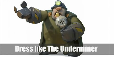 Dress Like The Underminer (The Incredibles) Costume