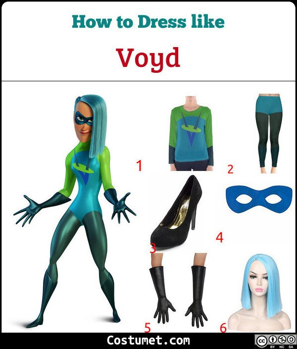 Voyd Costume for Cosplay & Halloween