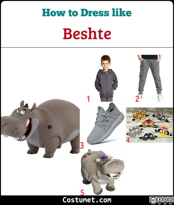 Beshte The Lion Guard Costume for Cosplay & Halloween