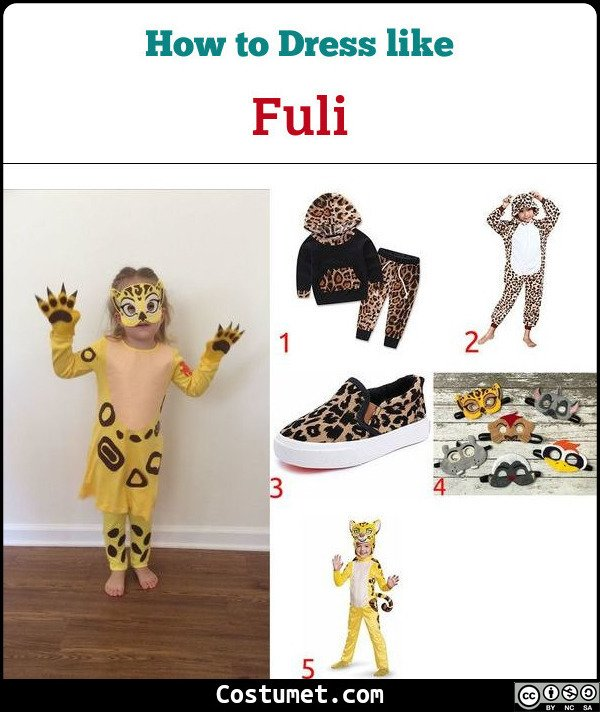 Fuli The Lion Guard Costume for Cosplay & Halloween