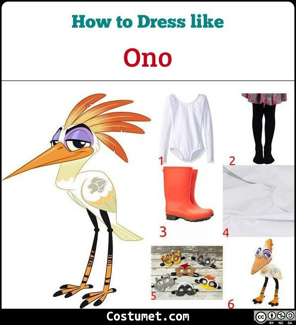 Ono The Lion Guard Costume for Cosplay & Halloween