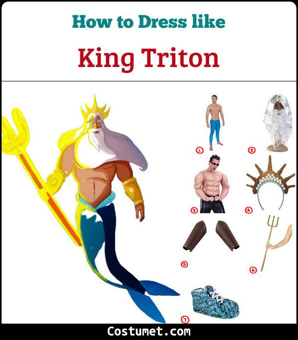 King Triton Cosplay & Costume Guide