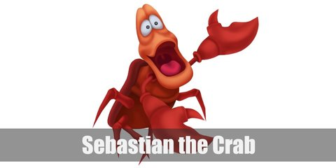 Sebastian the Crab Costume