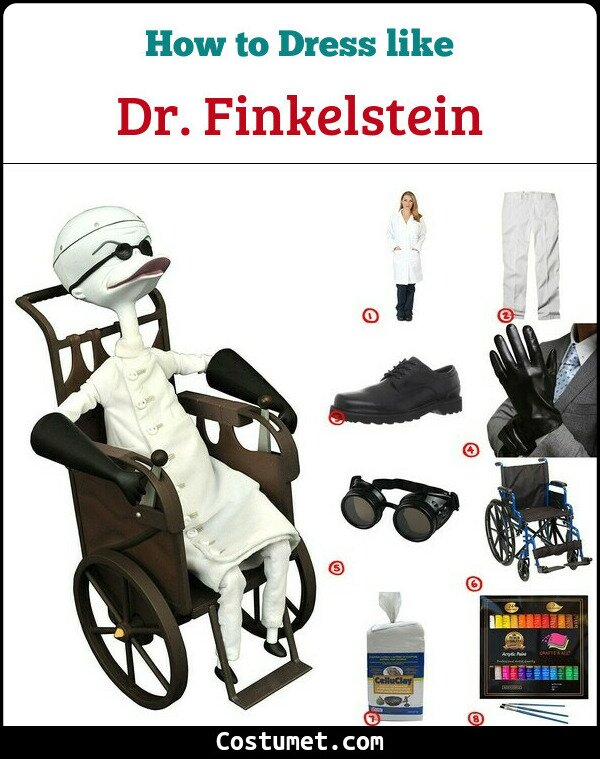 Doctor Finkelstein Costume for Cosplay & Halloween