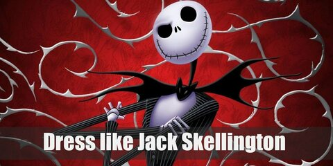 Dress Like Jack Skellington (Pumpkin King) Costume