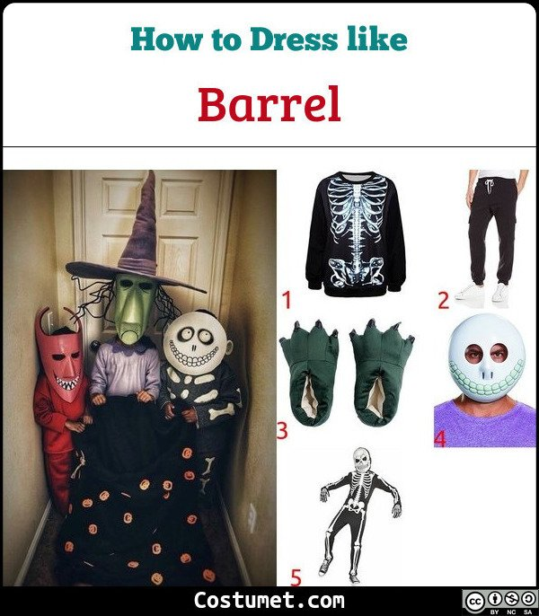 Barrel Costume for Cosplay & Halloween