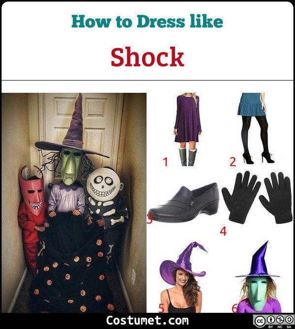 Shock Costume for Cosplay & Halloween