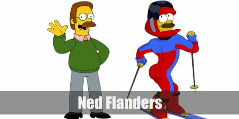 Ned Flanders (The Simpsons) Costume