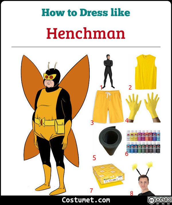 Henchman The Venture Bros Costume for Cosplay & Halloween