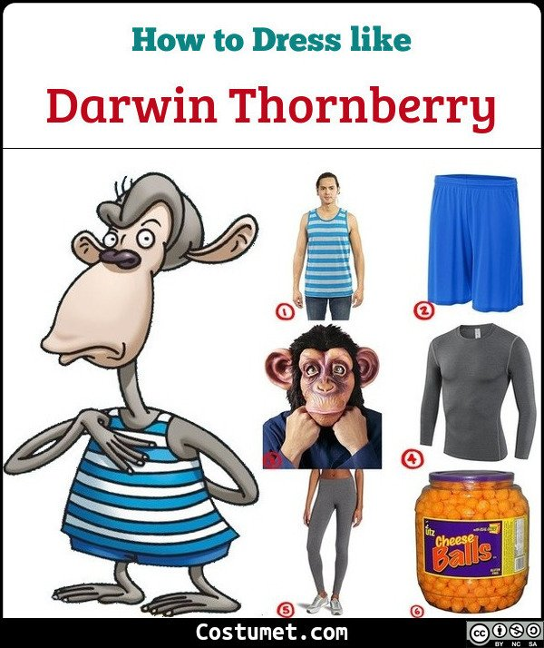 Darwin Thornberry Costume for Cosplay & Halloween