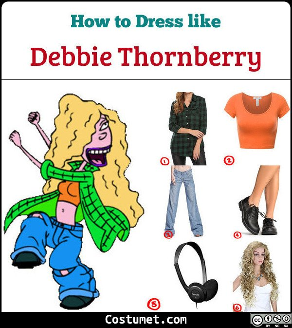 Debbie Thornberry Costume for Cosplay & Halloween