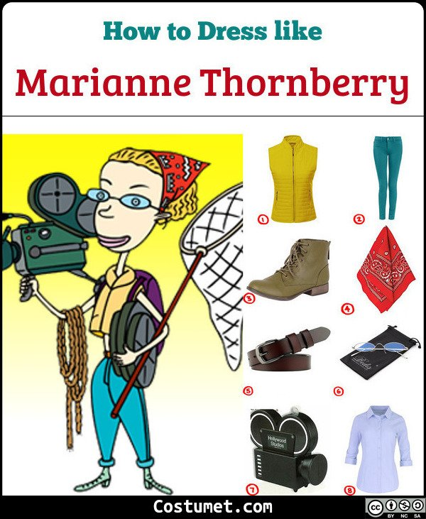 Marianne Thornberry Costume for Cosplay & Halloween