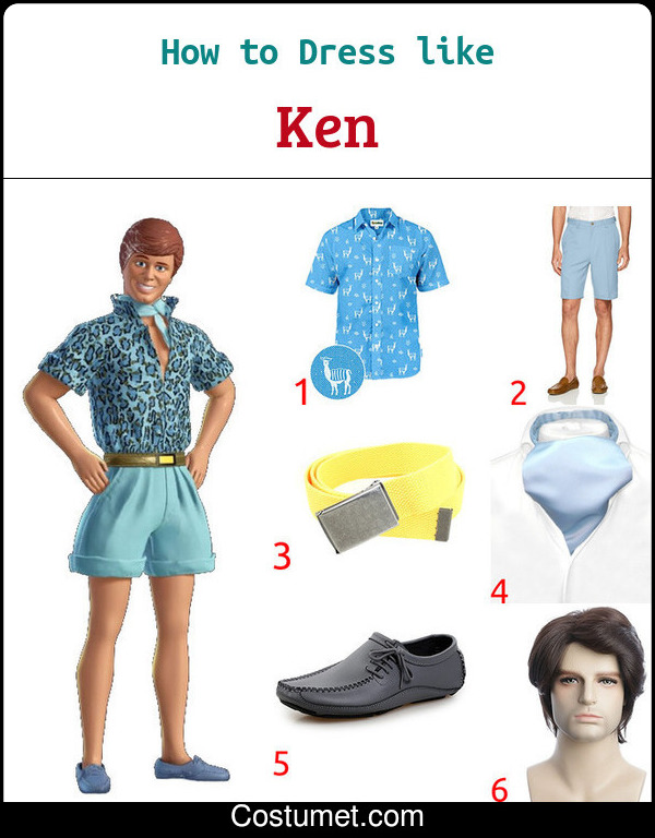 Barbie And Ken Costume for Cosplay & Halloween