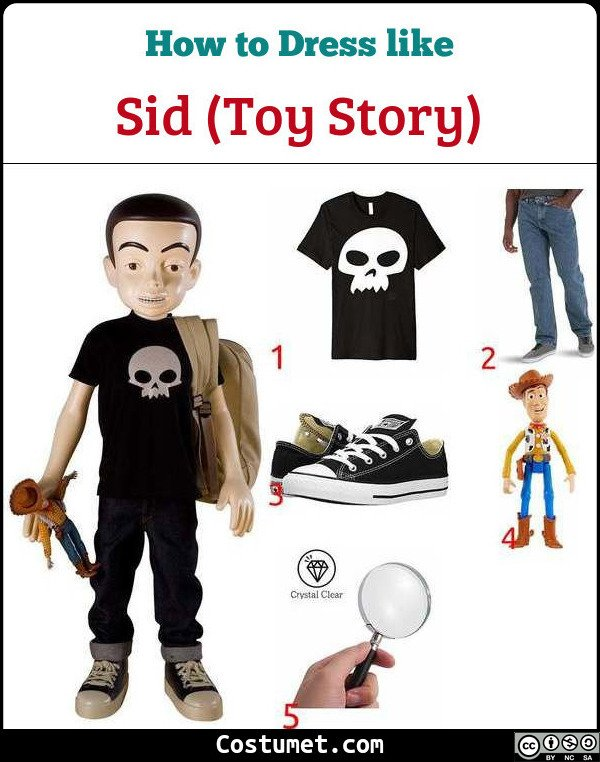 Sid Costume for Cosplay & Halloween
