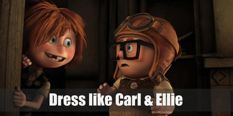 Carl and Ellie (Up) Costume