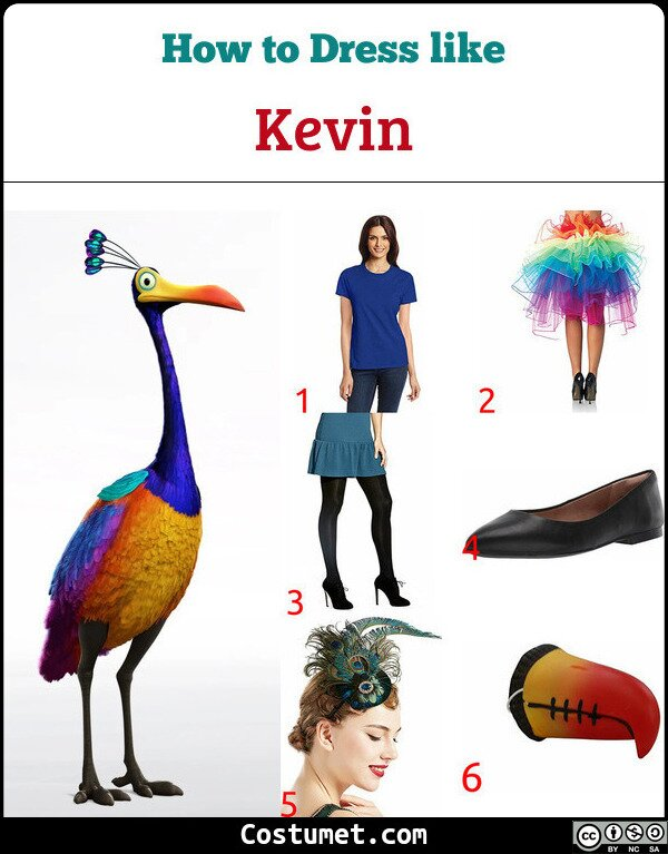 Kevin Costume for Cosplay & Halloween