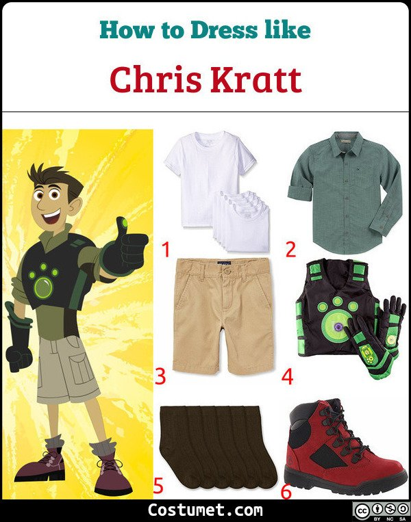 Wild Kratts Costume for Cosplay & Halloween