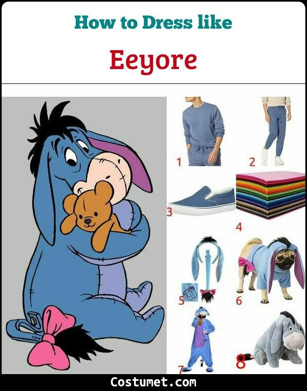 Eeyore Costume for Cosplay & Halloween