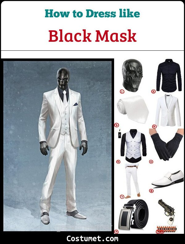 Black Mask Cosplay & Costume Guide