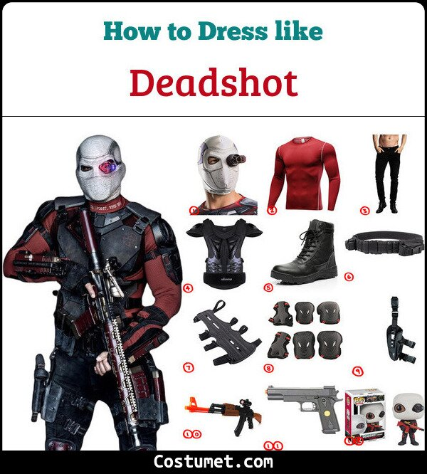 Deadshot Cosplay & Costume Guide