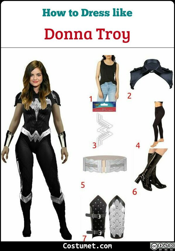 Donna Troy Costume for Cosplay & Halloween