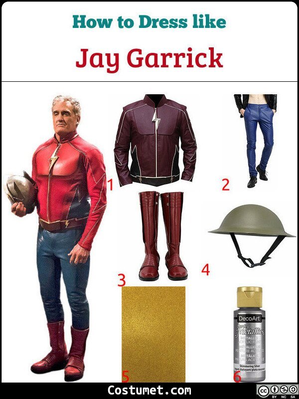 Jay Garrick Costume for Cosplay & Halloween